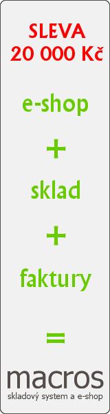 Skladový a e-shopový systém